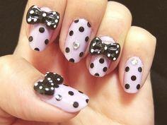 Bows & Polka Dots! <3