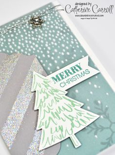 Peaceful Pines with Holly Jolly Greetings from Stampin' Up!