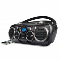 AKAI Bluetooth(R) CD Boombox AM/FM Digital Read Out with 6 Speakers http://www.giftgallore.com/product/91640_m/75_/AKAI-Bluetooth(R)-CD-Boombox-AM-FM-Digital-Read-Out-with-6-Speakers-5284091640M.html