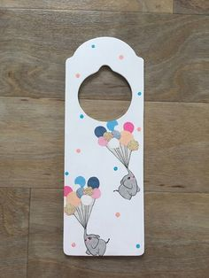 Door Hanger - Elephants £7.49
