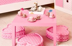 Quarto feminino rosa tema bonecas Kokeshi | Quarto de bebê – Decoração, bebês, gravidez e festa infantil