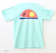 Waters Bluff Big Air T-Shirt for Men in Island Reef