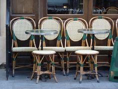 Café Chairs by chez loulou, via Flickr