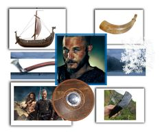 """""""#cute Viking guy/ Ragnar"""" by wendycecille ❤ liked on Polyvore featuring art"""