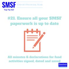 Only 8 days until June 30. Empowering #SMSF members to manage #EOFY with confidence #SMSFTip21 #SmallBusiness