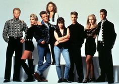 Beverly Hills, 90210 cast