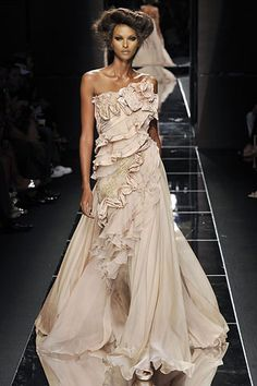 Elie Saab fall 2008 couture collection. See more: #ElieSaabAtFip, #FashionInPics