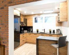 Kuchnia nowoczesna VERTINA - kampra.pl Beautiful Kitchens, Home Kitchens, Kitchen Remodel, Kitchen Island, Kitchen Design, Cool Designs, Sweet Home, House Design, Interior Design