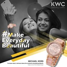Anytime is a good time to strike a pose #KWC #MichaelKors #MakeEverydayBeautiful