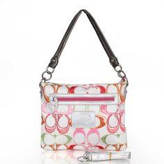 9d4e64144f7d Coach Shoulder Bag White Red Coach Bags Sale