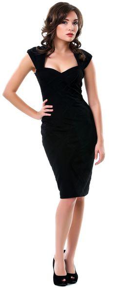 c7f7c974644 All Black Bandage Dress - Unique Vintage - Homecoming Dresses