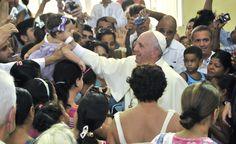 Visita del Papa a santiago de Cuba