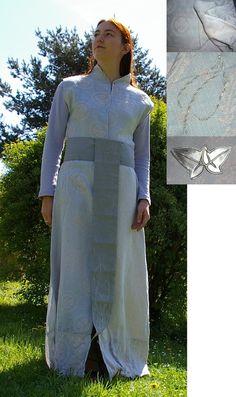 Light blue elven robe by ~Celefindel on deviantART