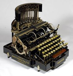 1892 North's Typewriter