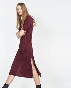 ZARA - NEW IN - PLEATED DRESS