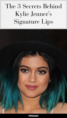 Pin for Later: Kylie Jenner Confirmed How Many Colours She Uses on Her Famous Lips