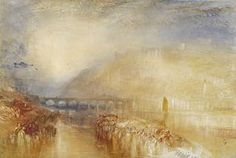 JMW Turner's Heidleberg, watercolor