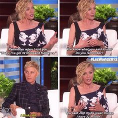 …and her own wife. | 35 Reasons Ellen DeGeneres Is A Goddamn National Treasure