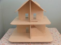Collapsible dolls house.