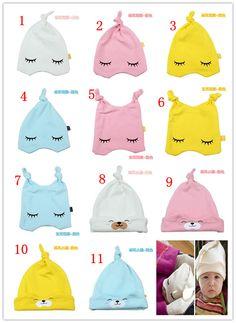 hats for sleepy babies