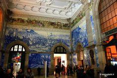 Six idées de visite à Porto Six idées de visite à Porto | via Le Blog | 22/01/2015 Photo: La gare De São Bento #Portugal