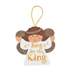 """Sing For The King"" Ornament Craft Kit - OrientalTrading.com"