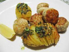 Haukipullat: Kipparin morsian Baked Potato, Potatoes, Baking, Ethnic Recipes, Food, Potato, Bakken, Essen, Meals