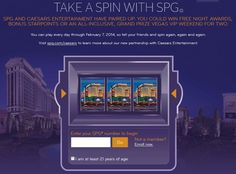 Win free points / nights with Starwood hotels@Points with a Crew