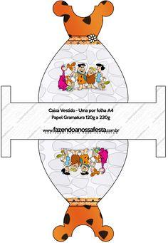 Caixa Vestido Os Flintstones: