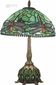 Dale Tiffany Dragonfly Tiffany Table Lamp $695.99