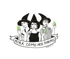 Somos lxs nietxs de las brujas que no pudieron quemar. Estamos acá, y ahora el fuego somos nosotrxs. #brujas #witches #artefeminista… Social Topics, Feminist Af, Cute Pins, Power Girl, Illustrations And Posters, Powerful Women, Women Empowerment, Bff, Witch