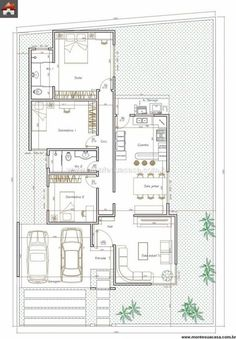 Small House Plans, House Floor Plans, House Construction Plan, Model House Plan, Floor Plan Layout, Contemporary House Plans, Architectural Design House Plans, Farmhouse Plans, House Layouts