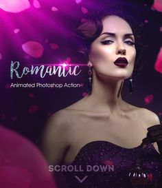 Romantic Photoshop Animated Action - Photo Effects #Actions #PSAction #Photoshop #PS #Graphicriver #PhotoEffects #Digitalart #Design #art #beauty #valentinesday #valentines #love