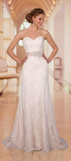 Stella York 2014 Fall Wedding Gown Collection | Calligraphy by Jennifer