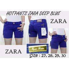 Hot Pants Zara Deep Blue