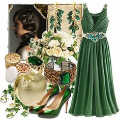 Pretty green things not Green Fashion, Love Fashion, Fashion Models, Fashion Trends, Irish Fashion, Bridesmaid Inspiration, Bridesmaid Dresses, Wedding Dresses, Wedding Themes