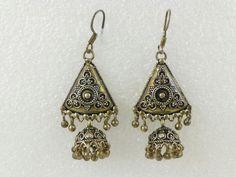 925 Sterling Silver Bali Chandelier Hook Earrings
