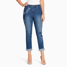 FREE SHIPPING AVAILABLE! Buy Gloria Vanderbilt® Roll Cuff Ankle Jean at JCPenney.com today and enjoy great savings.