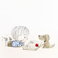 Why, hello! There's nothing like seeing the world through a child's eyes. Position your Cheerios and take a look at these adorable illustrations by UK author/illustrator Jane Massey. Illustration Mignonne, Art Mignon, Children's Book Illustration, Cute Drawings, Doodle Art, Cute Art, Art Sketches, Illustrators, Cute Pictures
