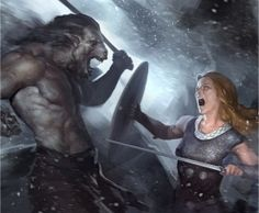 """Writing Combat In Fantasy: """"Writing combat is easy. Writing good combat is harder. Below are ten points–some of them tips, some of them common mistakes–to make sure your fighters are doing/using/hitting what they should be..."""""""