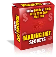 mailing lists secrets Email Marketing, Internet Marketing, Squeeze Page, Fun To Be One, How To Make, Darning, Try It Free, Listening To You, Zine