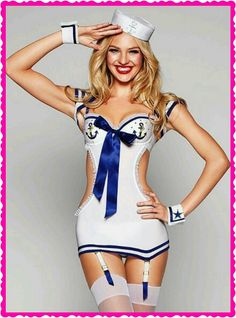Candice Swanepoel in Sailor outfit: Victoria's Secret Halloween 2011 Candice Swanepoel, Estilo Glamour, Sailor Costumes, Victoria's Secret, Vs Models, Little Dresses, Sexy Outfits, Tom Ford, Sexy Lingerie