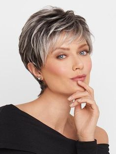 Image result for salt and pepper hairstyles