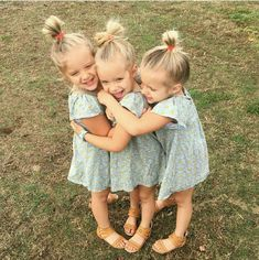 I LOVE these triplets! ❤️ Dylan, Maisynn & Raigan are their names Beautiful Children, Beautiful Babies, Cute Kids, Cute Babies, Triplet Babies, Kid Sister, Baby Kind, Children Photography, Triplets Photography