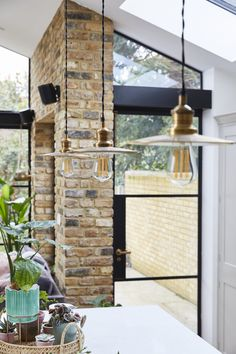 Victorian Terrace House, Victorian Living Room, Victorian Homes, House Extension Design, House Design, Extension Ideas, Kitchen Extension Open Plan, London Brick, Open Plan Kitchen Dining Living