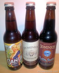 Old Dominion Millennium Ale, Baltic Porter & Candi Belgian Tripel - A First Sampling