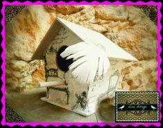 casa para pajaros vintage. por: Lina dizayn