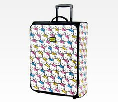 Hello Kitty Rolling Luggage: Bright Bows