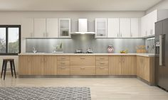 Marge L-Shaped Kitchen