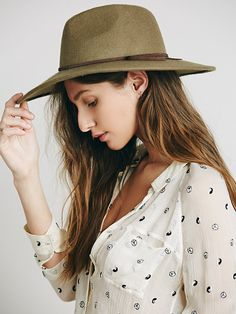 Free People Matador Hat at Free People Clothing Boutique